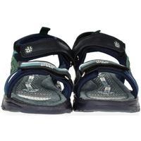 Boty Děti Sandály Bessky Detské modré sandále  CODY tmavomodrá