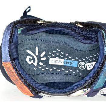 Boty Děti Sandály Bessky Detské modré sandále  CLARK tmavomodrá