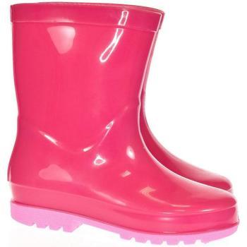 Boty Chlapecké Holínky Bbs Detské ružové gumáky BINI ružová
