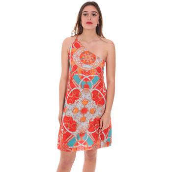 Textil Ženy Krátké šaty F * * K  Oranžový