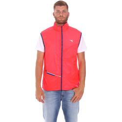 Textil Muži Svetry / Svetry se zapínáním Diadora 102174986 Růžový