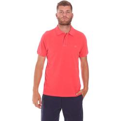 Textil Muži Polo s krátkými rukávy Sundek M787PLPQ1TC Červené