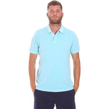Textil Muži Polo s krátkými rukávy Sundek M787PLPQ1TC Modrý