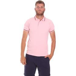 Textil Muži Polo s krátkými rukávy Sundek M779PLJ6500 Růžový