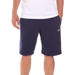 Textil Muži Kraťasy / Bermudy Ea7 Emporio Armani 3KPS81 PJ05Z Modrý