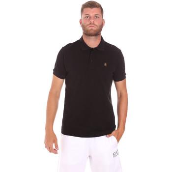 Textil Muži Polo s krátkými rukávy Refrigiwear RM0T25900PQ9002 Černá