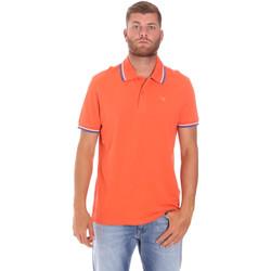 Textil Muži Polo s krátkými rukávy Diadora 102161006 Oranžový