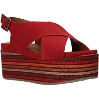 Boty Ženy Sandály Onyx S20-SOX753 Červené
