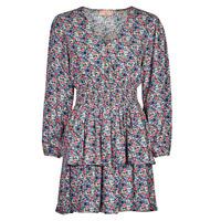 Textil Ženy Krátké šaty Moony Mood PAPIS Růžová