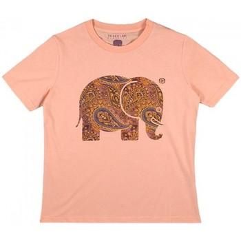 Textil Ženy Košile / Halenky Trendsplant CAMISETA MUJER  029970WPTP Oranžová
