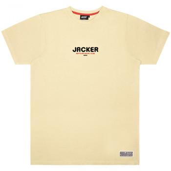Textil Muži Trička s krátkým rukávem Jacker Reptilian Béžová