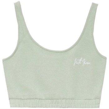 Spodní prádlo Ženy Sportovní podprsenky Sixth June Brassière  Signature Molletonné vert pastel
