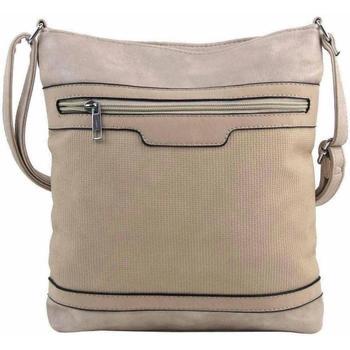 Taška Ženy Tašky přes rameno Rosy Bag Hnědo-béžová crossbody dámská kabelka FB1913 hnědá