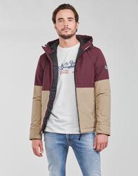 Textil Muži Bundy Jack & Jones JORBOBBY Fialová / Hnědá