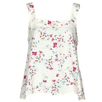 Textil Ženy Halenky / Blůzy Vero Moda VMMILA Béžová