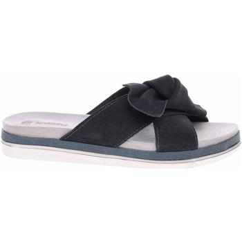 Boty Ženy Dřeváky Inblu Dámské pantofle  158D156 modrá Modrá