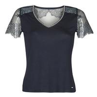 Textil Ženy Trička s krátkým rukávem Morgan DEXIA Tmavě modrá