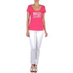 Textil Ženy Kapsáčové kalhoty Tommy Hilfiger LENNY Růžová