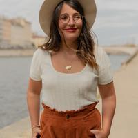 Textil Ženy Halenky / Blůzy Céleste ERABLE Krémově bílá