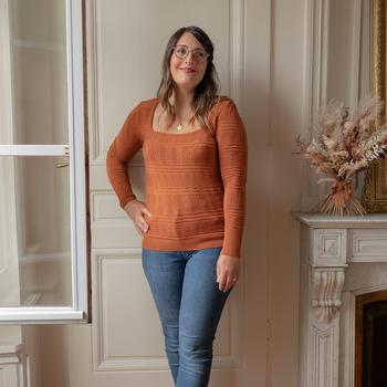 Textil Ženy Svetry Céleste NYSSA Rezavá