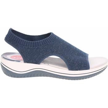 Boty Ženy Sandály Jana Dámské sandály  8-28728-36 navy Modrá
