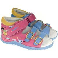 Boty Dívčí Sandály Super Gear Detské ružové sandále LOVE ME ružová