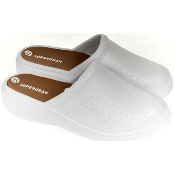 Boty Ženy Pantofle Super Gear Dámske biele crocsy S.GEAR ANDY biela