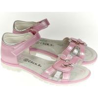 Boty Dívčí Sandály Csck.s Detské ružové sandále  MISS JOHANKA ružová