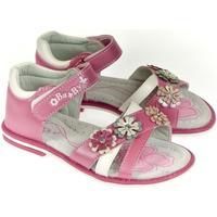 Boty Dívčí Sandály Csck.s Detské ružové sandále  MISS BABY ružová