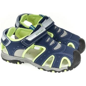 Boty Chlapecké Sportovní sandály Csck.s Detské tmavo-modré sandále  DEOS tmavomodrá