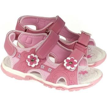 Boty Dívčí Sandály Csck.s Detské ružové sandále  ALLIA ružová