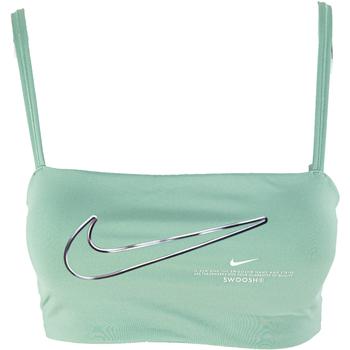 Nike Sportovní podprsenky Dri-FIT Indy - Zelená