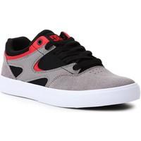 Boty Muži Skejťácké boty DC Shoes DC Kalis Vulc ADJS300569-XKSR black, grey, red