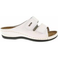Boty Ženy Dřeváky Inblu Dámské pantofle  158D107 bílá Bílá