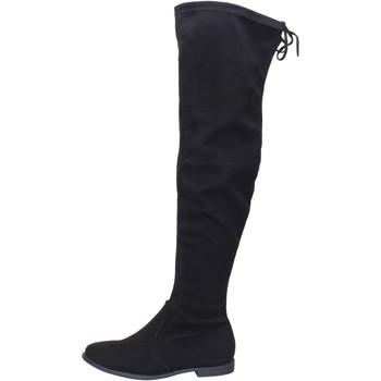 Boty Ženy Vysoké kozačky nad kolena Péché Originel BH524 Černá