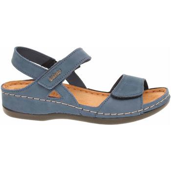 Boty Ženy Sandály Inblu Dámské sandály  158D101 modrá Modrá