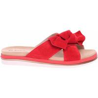 Boty Ženy Dřeváky Inblu Dámské pantofle  158D154 červená Červená