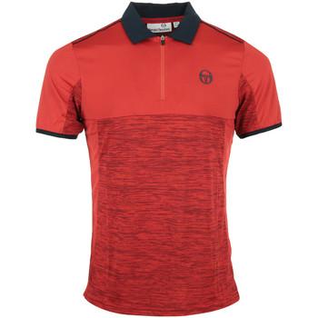 Textil Muži Polo s krátkými rukávy Sergio Tacchini Aka Polo Červená