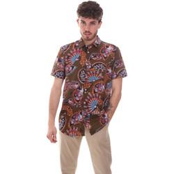 Textil Muži Košile s krátkými rukávy Sseinse CE665SS Zelený