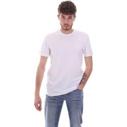 Textil Muži Trička s krátkým rukávem Antony Morato MMKS01855 FA120022 Bílý