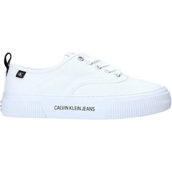 Boty Ženy Nízké tenisky Calvin Klein Jeans YW0YW00054 Bílý