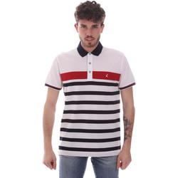 Textil Muži Polo s krátkými rukávy Navigare NV70028 Bílý