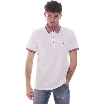 Textil Muži Polo s krátkými rukávy Navigare NV82125 Bílý