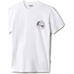 Textil Muži Trička s krátkým rukávem Napapijri NP0A4F6K Bílý