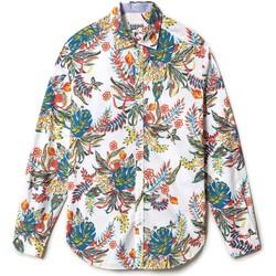 Textil Muži Košile s dlouhymi rukávy Napapijri NP0A4F86 Bílý