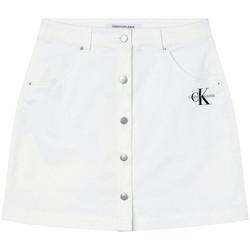 Textil Ženy Sukně Calvin Klein Jeans J20J215720 Bílý