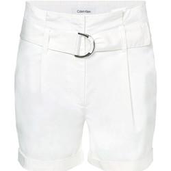 Textil Ženy Kraťasy / Bermudy Calvin Klein Jeans K20K202820 Bílý