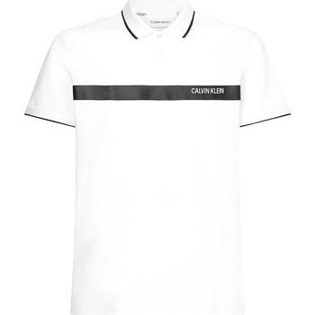 Textil Muži Polo s krátkými rukávy Calvin Klein Jeans K10K106458 Bílý