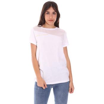 Textil Ženy Trička s krátkým rukávem Ea7 Emporio Armani 3KTT34 TJ4PZ Bílý