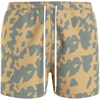 Textil Muži Plavky / Kraťasy Calvin Klein Jeans KM0KM00614 Zelený